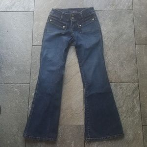 Denim - Juniors Jeans with Snap Front Pockets